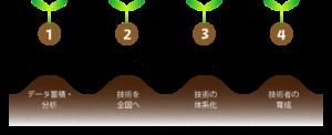 スマートイオン農法 プロセス