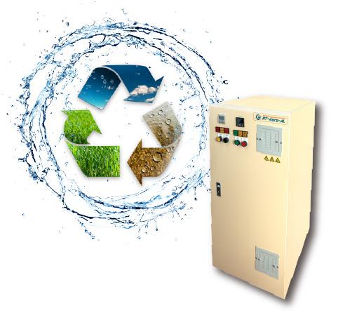 強アルカリ性電解水生成装置